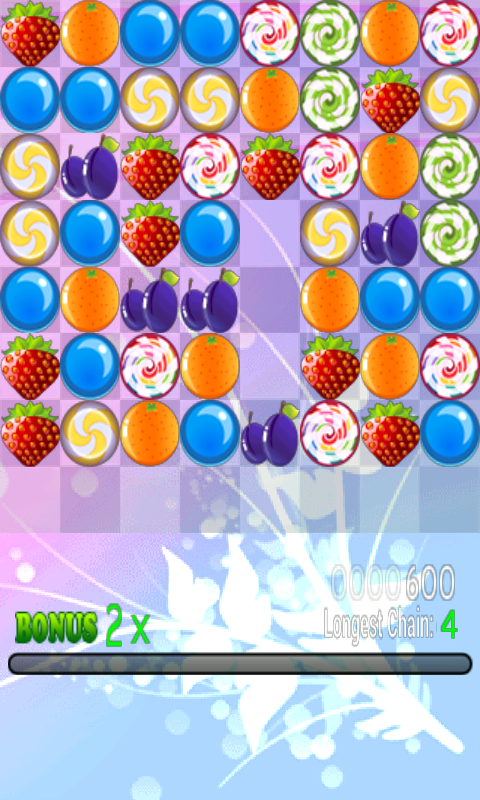 Fruits and Candies - screenshot