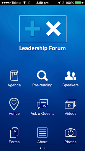 Leader Forums