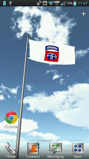 82nd AB Flag Live Wallpaper