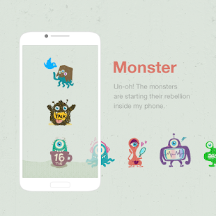 Monster Dodol Theme