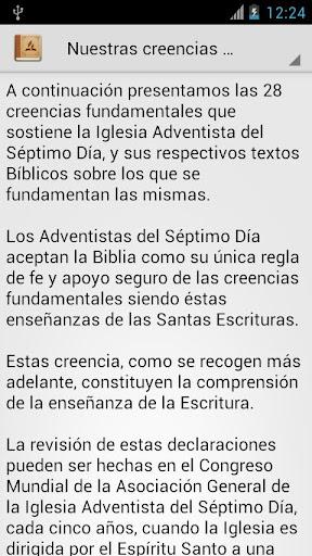 Creencias Adventistas