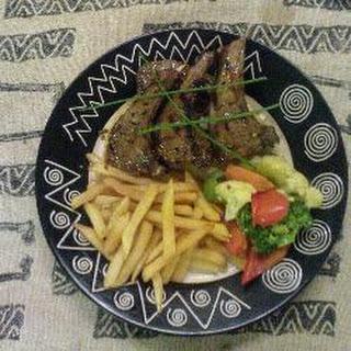 South African karoo lamb cutlets