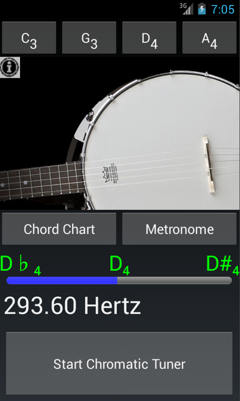 Guitar guitar chords tuner : Banjo Tuner N Banjo Chords - Android Apps on Google Play