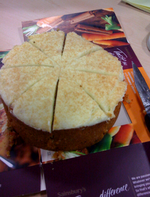 Carrot Cake Trish Deseine