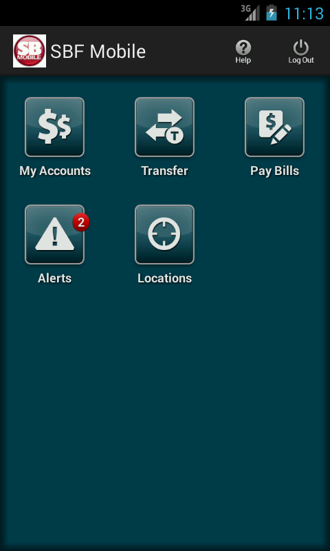 SBF Mobile Bank- screenshot