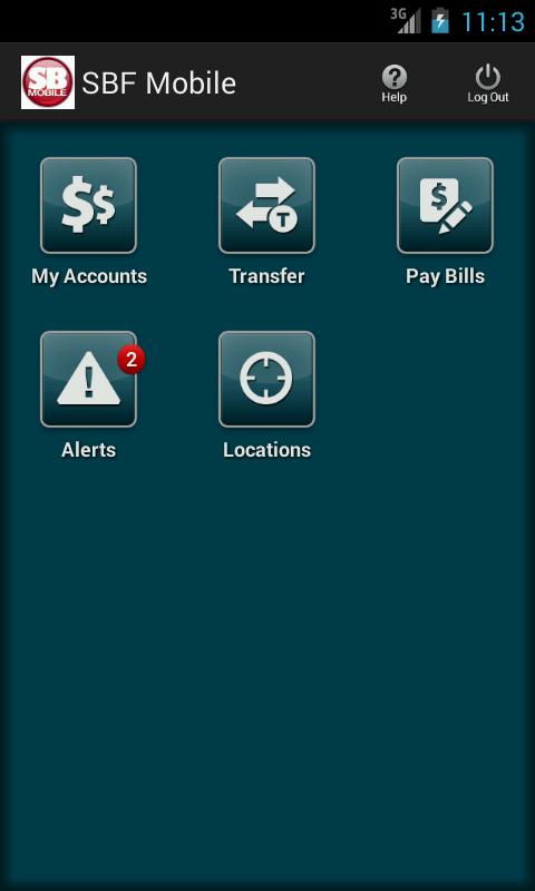 SBF Mobile Bank - screenshot