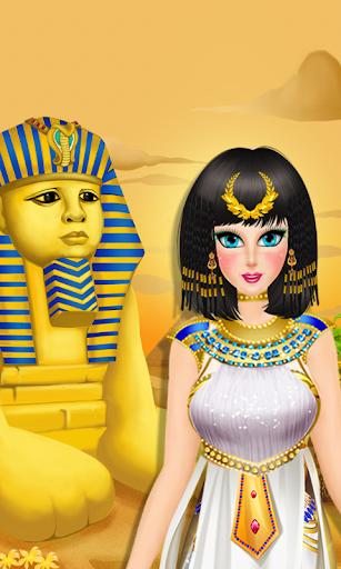 【免費休閒App】埃及化妝公主遊戲-APP點子