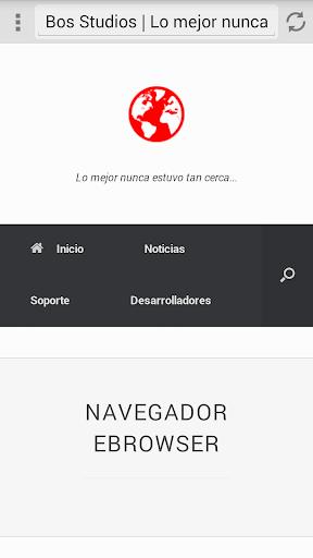 Navegador eBrowser