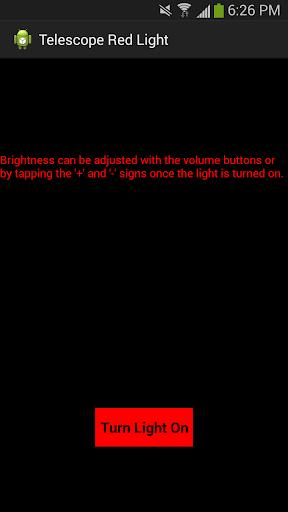 Telescope Red Light Free