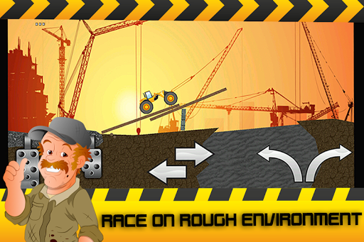 Construction Truck Racing