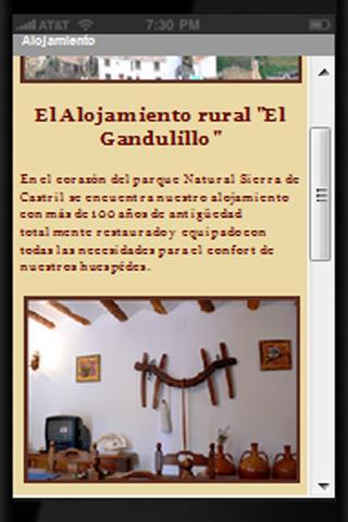 """Holiday-House """"El Gandulillo""""- screenshot"""