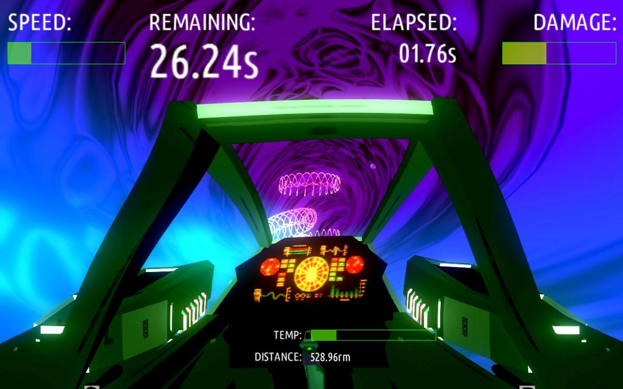 BloodRunner Tunnel Racer DEMO - screenshot