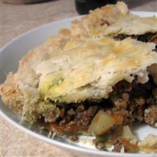 Tourtiere (Meat Pie).