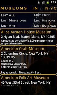 Museums In NYC - screenshot thumbnail