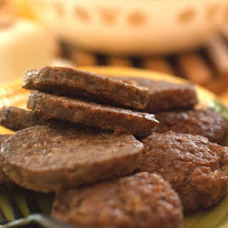 Veal And Turkey Breakfast Sausage.