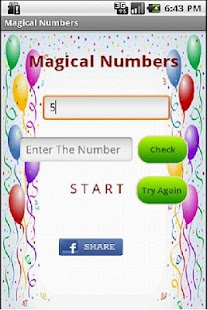 Magical Numbers- screenshot thumbnail