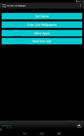 My Text Live Wallpaper 2.2 screenshot 10227