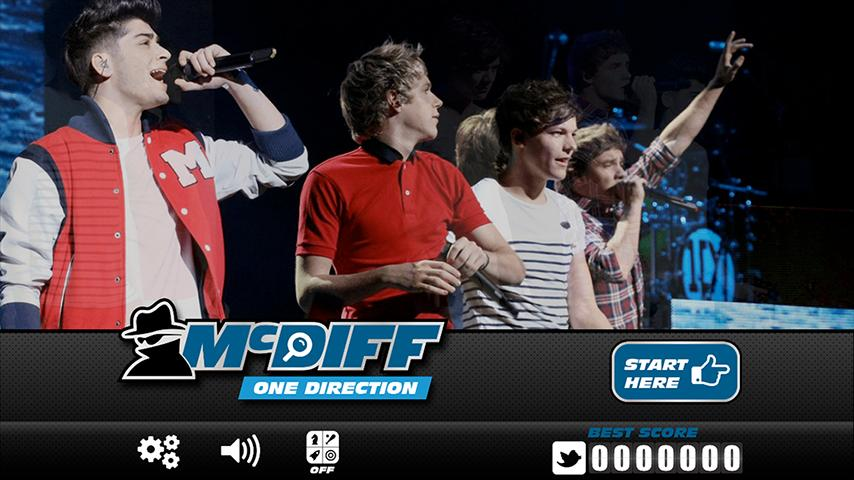 McDiff One Direction Edition - screenshot