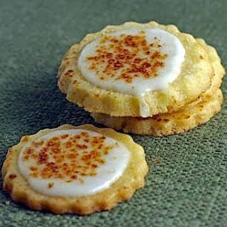 Bruleed Orange Butter Cookies