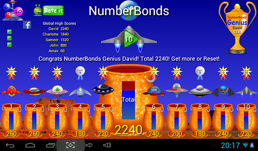 Number bonds ­­­