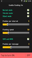 Screenshot of Flash On Call