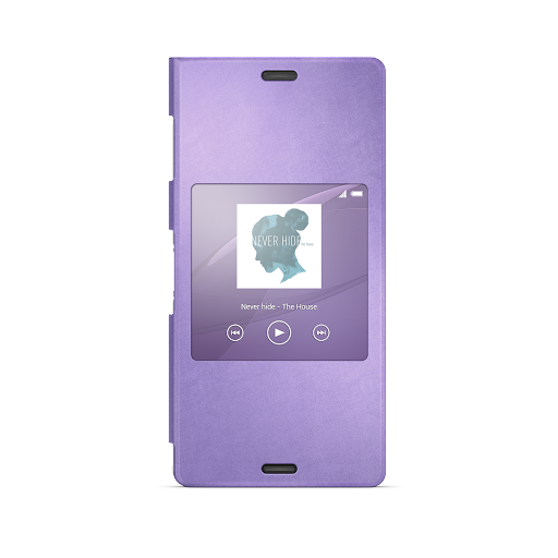 Xperia™桌布︰淺紫色