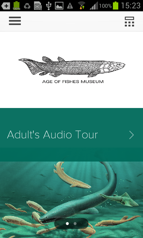 Age of Fishes Museum- screenshot