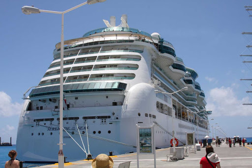 serenade-of-seas-st-maarten-2 - Royal Caribbean's Serenade of the Seas in St. Maarten.