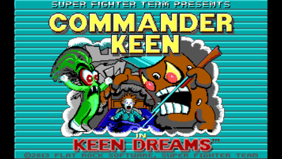 Commander Keen in Keen Dreams - screenshot thumbnail