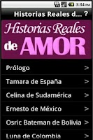 Screenshot of Historias Reales de Amor