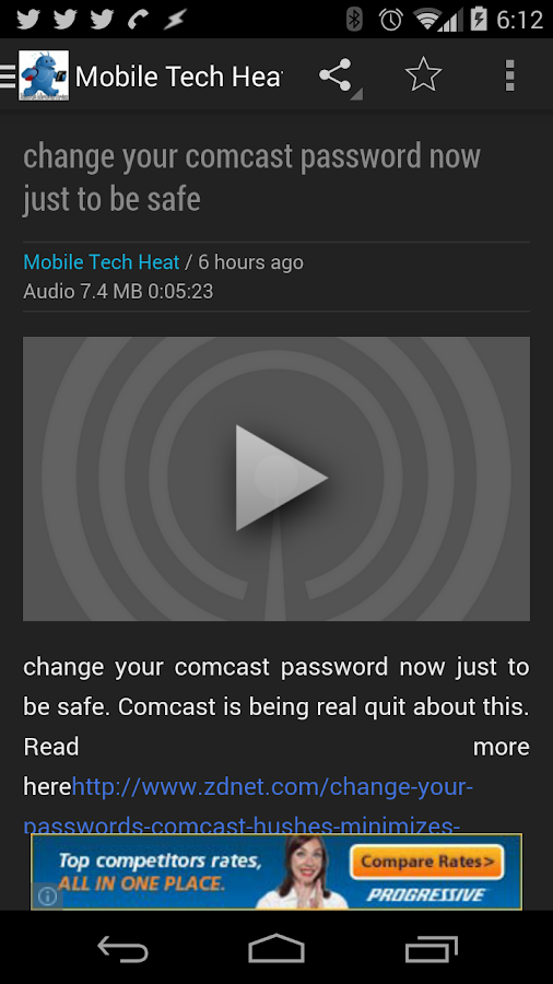 Mobile Tech Heat News- screenshot