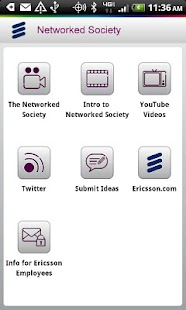 Ericsson Networked Society - screenshot thumbnail