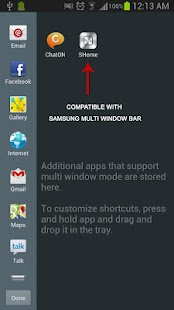 SHome for Samsung Multi Window- screenshot thumbnail