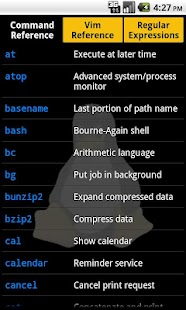 Linux Reference Card - screenshot thumbnail