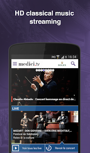 medici.tv - Classical music- screenshot thumbnail