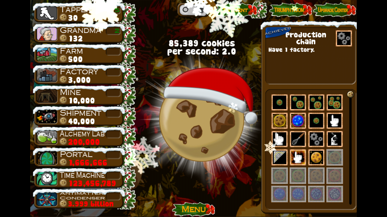 Cookie Clicker - screenshot