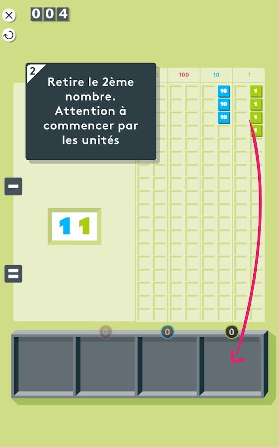 Montessori Maths: + & - – Capture d'écran