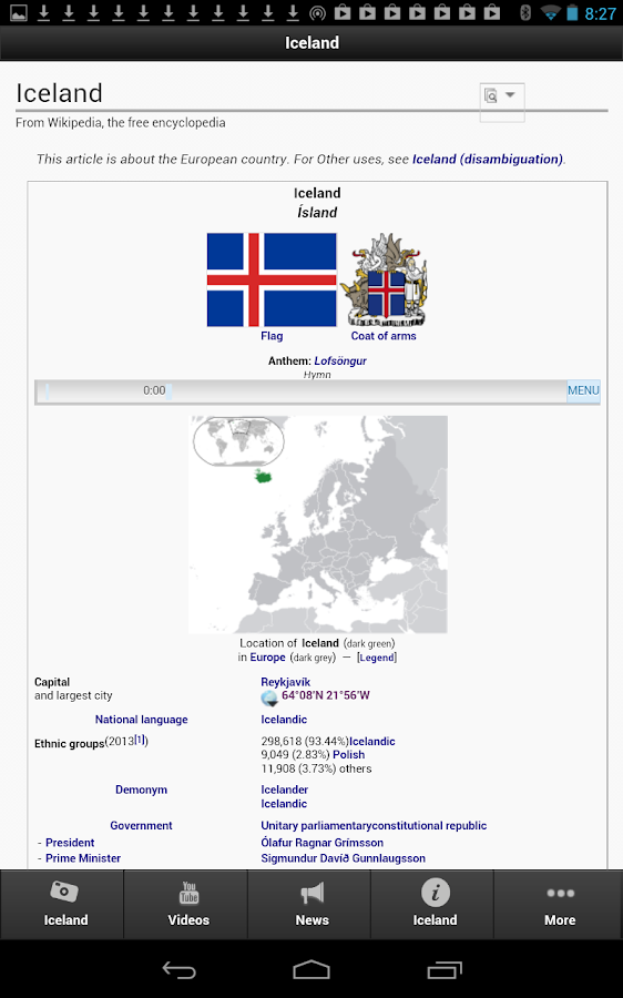 Iceland- screenshot