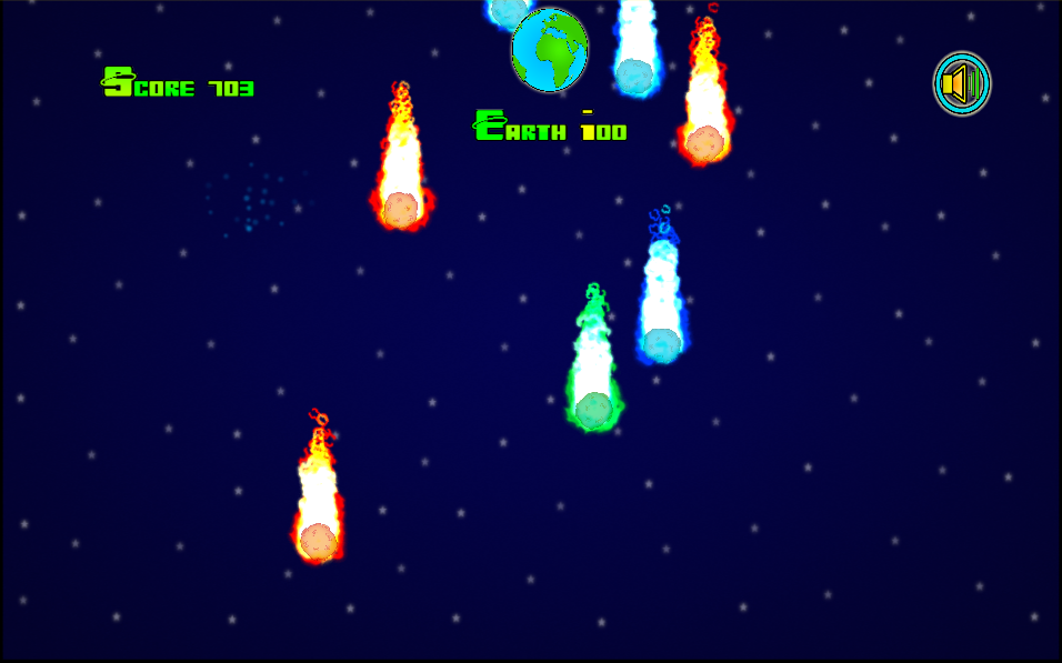 Meteor Crasher- screenshot