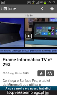 Exame Informática Online - screenshot thumbnail