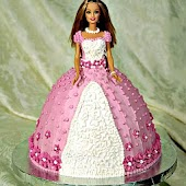 Barbie Cake Decoration