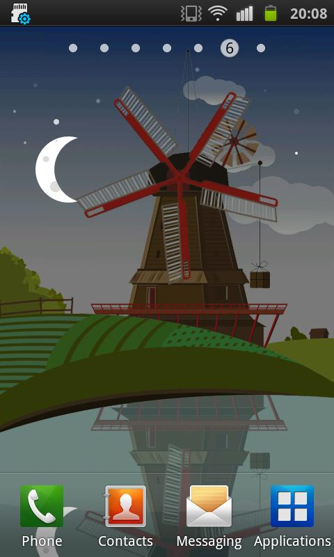 Windmill Live wallpaper- screenshot