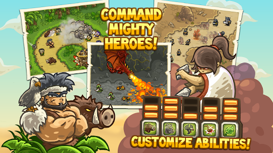 Kingdom Rush Frontiers v1.4.2 b 1470428207 Mod Money + Heroes Unlocked