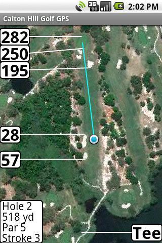 Calton Hill Golf GPS- screenshot