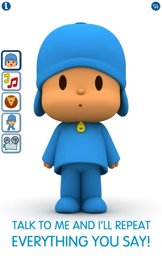 Talking Pocoyo Free - screenshot