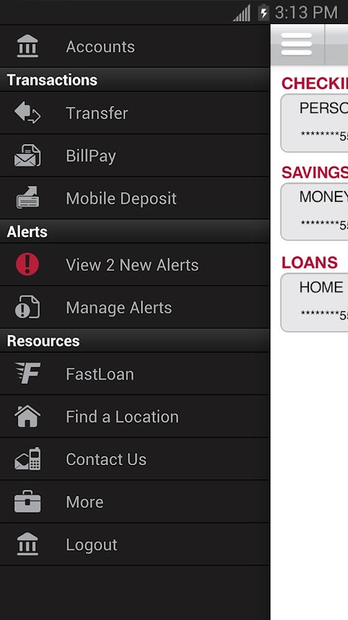 Bank of Oklahoma Mobile - screenshot