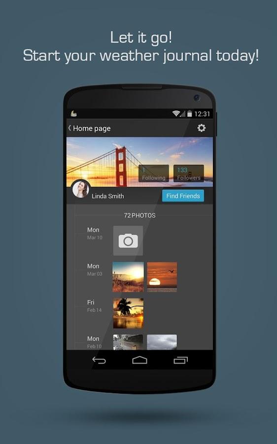 MoWeather - screenshot
