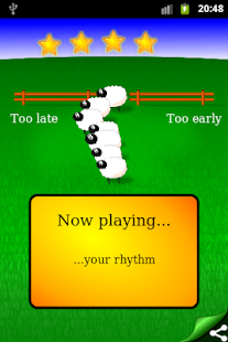 Rhythm Sheep Free, learn music - screenshot thumbnail
