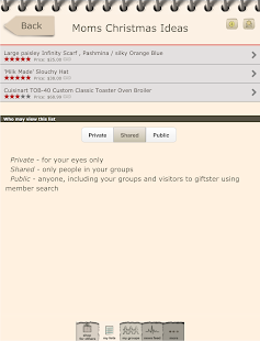 Giftster - Wish List Registry- screenshot thumbnail