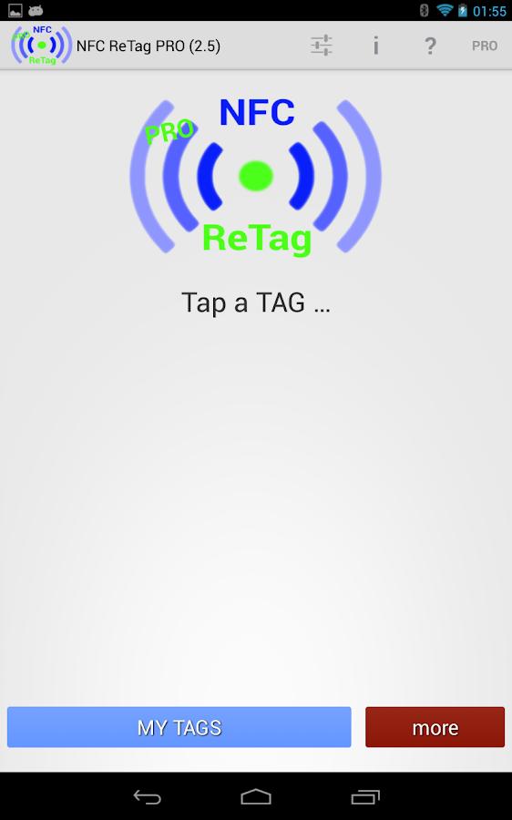 NFC ReTag PRO - screenshot